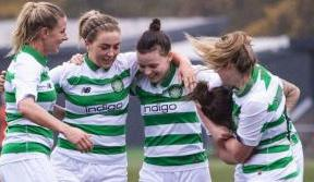 Ewens hat-trick as Celtic fire in six against the Saints