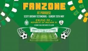 Join us in our Fanzone at Paradise this Sunday