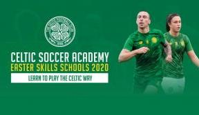Book now for Celtic Soccer Academy's Easter Skills Schools