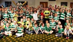 Sports Day fun at Celtic Park for Young Hoops Club members