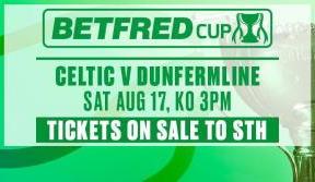 sth deadline 5pm monday for league cup v dunfermline