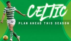 Plan ahead with Celtic this season - match tickets on sale now!