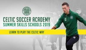 Book now for Celtic Soccer Academy's Summer Skills Schools