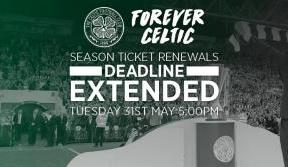Still time to renew for next season and answer the manager's call