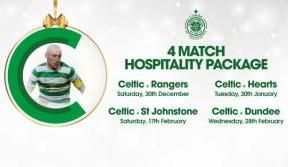 Give the gift of Matchday Hospitality – 4-match package on sale now