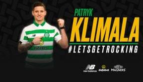 Celtic delighted to sign Polish striker, Patryk Klimala
