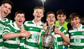 European football once more for Celtic's Under-17 champions