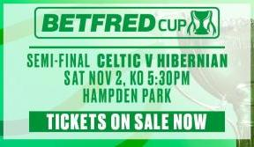Betfred League Cup semi-final tickets to be balloted