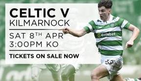 Celtic v Kilmarnock Print At Home Tickets Available