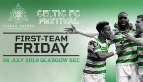First-team friday at the celtic fc festival