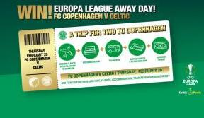 One week to enter! Win a Europa League away trip to Copenhagen