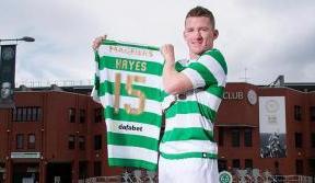 Irish eyes were smiling when I signed for Celtic