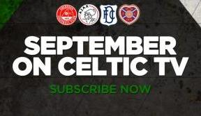 Super September line-up on Celtic TV