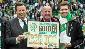 Win the chance to make the Paradise Windfall Golden Ticket draw