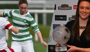 Kelly thrilled to lift Women's Player of the Year Award