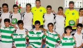 Bhoys make charitable visit on Qarabag trip