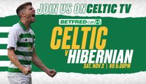 League Cup semi-final live on Celtic TV
