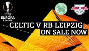One week to go! Remaining tickets selling fast for Celtic v RB Leipzig