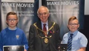 St Michael's pupils in Paradise with documentary award