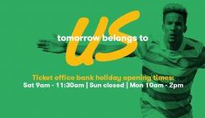 Ticket Office opening hours this holiday weekend