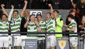 Dominant Celts lift the Youth Cup at Hampden