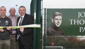 New John Thomson Park is a lasting tribute to a Celtic legend