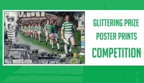 Win a glittering prize poster print signed by a Lisbon Lion