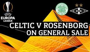 Still time to secure a place at Paradise for Celtic v Rosenborg