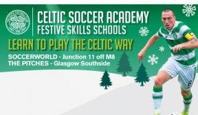 Sign up for Celtic Soccer Academy's Festive Skills Schools