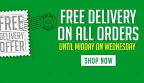 Online Superstore – free delivery on all orders until midday Wednesday