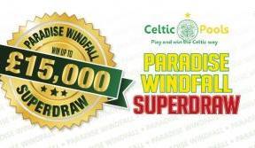 Amazing £15k Paradise Windfall superdraw is back