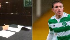 Joe Thomson commits future to Celtic