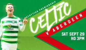 Last chance to secure your tickets for Celtic v Aberdeen
