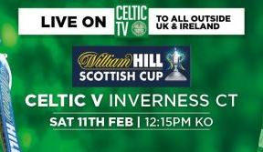 Watch the Celts in Scottish Cup action on Celtic TV