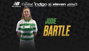 Defender Jodie Bartle joins Celtic for 2020 season