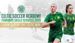 Book now for Celtic Soccer Academy's February Skills Schools