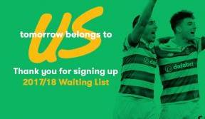 Thank you all who have joined the season ticket waiting list