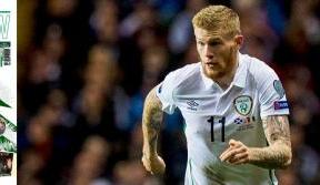 James McClean: Celtic, Celtic, that's the team for me