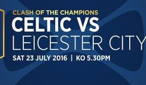 See the Bhoys in action against Leicester City - tickets on sale now