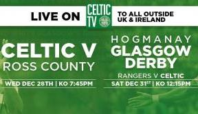 Tune in to Celtic TV for final 2016 matches