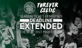 Time running out to renew – extended deadline ends 5pm Tuesday