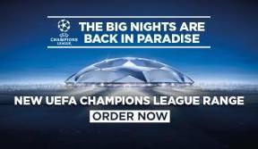 New UEFA Champions League range on sale now