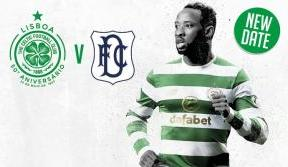 Tickets on sale now for rescheduled Celtic v Dundee game