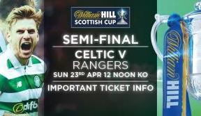 Scottish Cup semi-final ticket deadline reminder