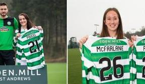 Celtic Women's American signings welcome new sponsor Eden Mill