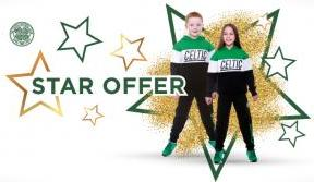 Make a great saving with our half-price jogsuit star offer!