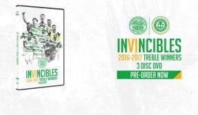 Invincibles – 2016/17 treble winners DVD - pre-order now