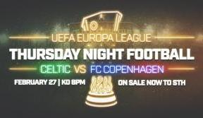 Less than a week to go! STH secure your place for FC Copenhagen tie