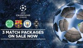 UCL season ticket holder packages on sale now