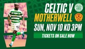 League action returns to Paradise with Celtic v Motherwell